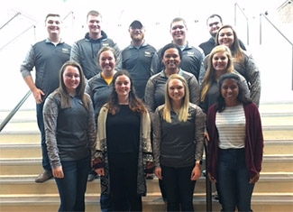 Alumni Association Student Board members
